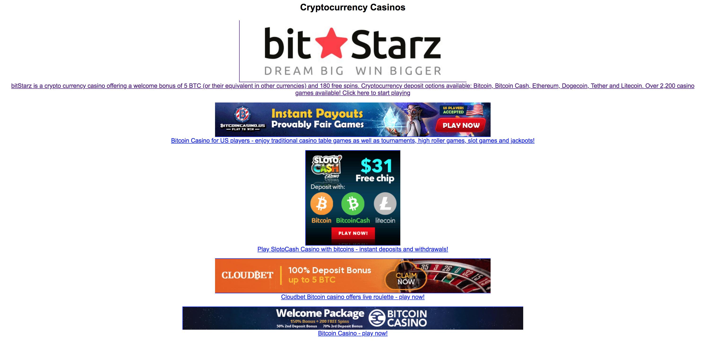 Ilmainen bitcoin-rulettiluotto ei talletusta
